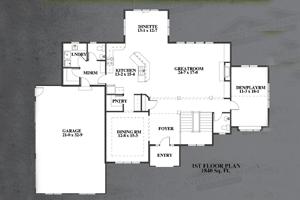 Anthony Thomas Builders Floor Plans