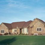 exterior ranch home anthony thomas builders