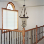Second floor stair railing - Anthony Thomas Builders