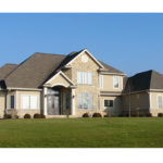 2 Story home with stone front exterior - Anthony Thomas Builders