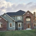 2 Story, Brick Entrance - Anthony Thomas Builders