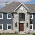 2 Story home with wainscoting and stone front - Anthony Thomas Builders