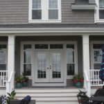 Porch with double doors - Anthony Thomas Builders