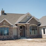 Exterior Ranch, Gable - Anthony Thomas Builders