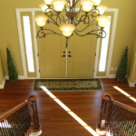 2 story foyer with double staircase - Anthony Thomas Builders