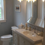 Bathroom with tile floor - Anthony Thomas Builders