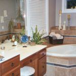 Bathroom Makeup Vanity - Anthony Thomas Builders