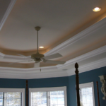 Bedroom with coffered ceilings - Anthony Thomas Builders
