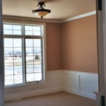 Bedroom with Wainscoting - Anthony Thomas Builders