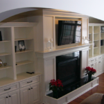 Great Room with built-ins and shelves - Anthony Thomas Builders