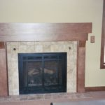 Great Room with tile fireplace - Anthony Thomas Builders