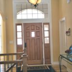 Foyer with transom window - Anthony Thomas Builders