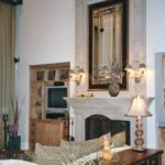 Great Room with double mantle fireplace - Anthony Thomas Builders