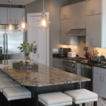Kitchen with granite island - Anthony Thomas Builders