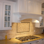 Kitchen with tile backsplash - Anthony Thomas Builders