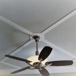 Master bedroom with ceiling fan - Anthony Thomas Builders