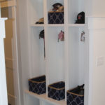 Internal lockers in lake room - Anthony Thomas Builders