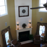 Great Room view from the second floor - Anthony Thomas Builders