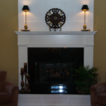 Great room with fireplace - Anthony Thomas Builders